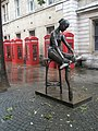 Intriguing statue in Broad Court - geograph.org.uk - 1024383.jpg