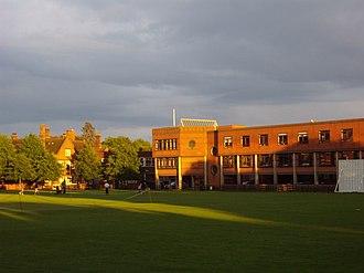 Ipswich School - Image: Ipswich School library geograph.org.uk 1294470