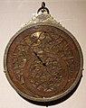 Iran, astrolabio planisferico, xviii secolo con aggiunte successive.jpg