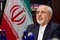 Iranian Foreign Minister Zarif Listens as Secretary Kerry Addresses Reporters (25977736034).jpg