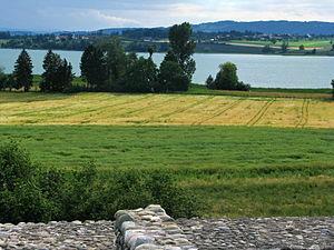 Pfäffikersee - Image: Irgenhausen castrum IMG 3402
