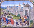 Isabella of France welcomed to Paris.jpg