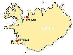 kart island Tingøyrar kloster – Wikipedia kart island