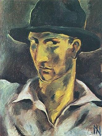 Ismael Nery - Ismael Nery, self-portrait