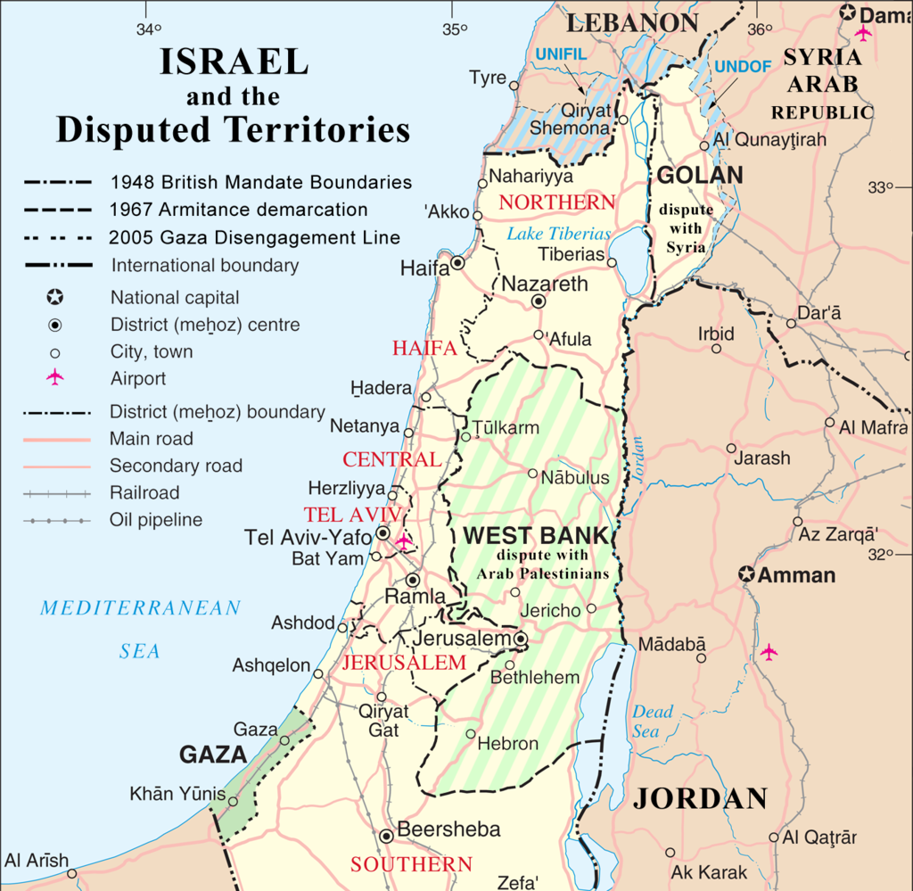 Israel and the Disputed Territories map (cropped).png