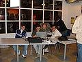 Italian Wikimaniacs in Frankfurt.JPG