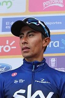 Iván Sosa Colombian cyclist
