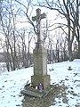 Ivančice, kříž před kaplí sv. Jakuba.jpg