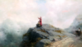 Ivan Aivazovsky - Dante Shows an Artist Some Unusual Clouds 02.png