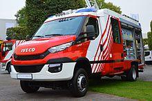 Un Iveco Daily V serie in allestimento speciale per i vigili del fuoco.