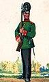 Jäger des Jäger-Bataillons Nr. 7 in Bückeburg in Paradeuniform um 1910. Zeitgenössische Darstellung.jpg