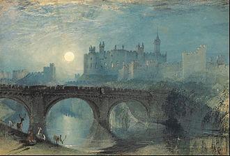 Alnwick Castle - Alnwick Castle, by J.M.W. Turner