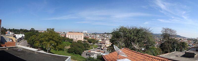 Panorama of Jundiaí seen from Vila São Paulo.