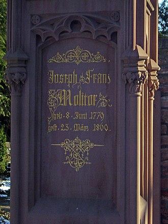 Joseph Franz Molitor - Joseph Franz Molitor gravesite (Frankfurt Main Cemetery)