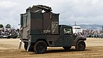 JGSDF High Mobility Vehicle(06-7523) with shelter of JMRC-C6-B right rear view at Camp Itami October 9, 2016 01.jpg