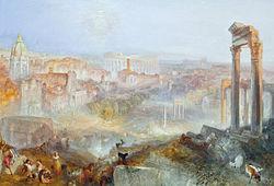 J. M. W. Turner: Modern Rome – Campo Vaccino