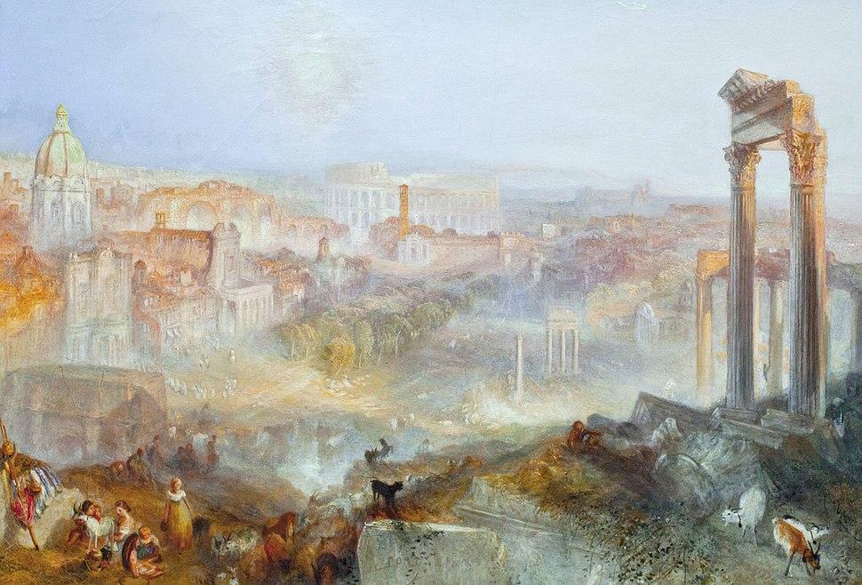 JMW Turner - Modern Rome - Campo Vacino