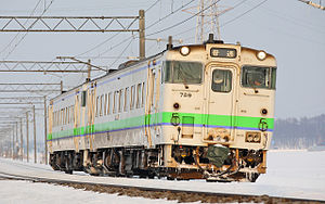 KiHa 40 series - A pair of JR Hokkaido KiHa 40 series units in January 2009