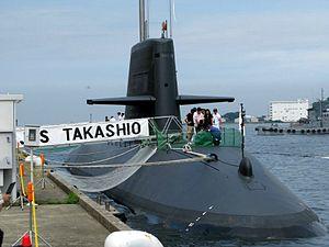 JS Takashio (SS-597) at Yokosuka, -1 Aug. 2009 b.jpg