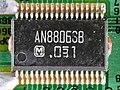 JVC MX-J950R - CD changer unit - controller board - Matsushita AN8806SB-93531.jpg