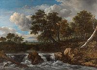 Jacob Isaacksz. van Ruisdael - Landschap met waterval - Google Art Project.jpg