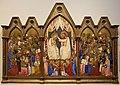 Jacopo di cione e bottega, altare di san pier maggiore, 1370-71, 01 incoronazione della vergine e santi.jpg