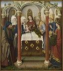 Jacques Daret - Altarpiece of the Virgin - WGA05934.jpg