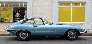 Jaguar E-Type - E-Type series 1 coupé 1964