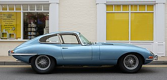 Jaguar E-Type - E-Type Series 1 coupé 1964