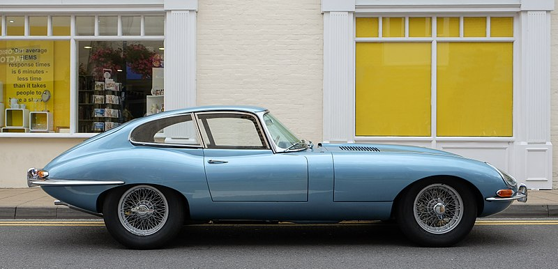 File:Jaguar E-Type series 1 coupé 1964.jpg