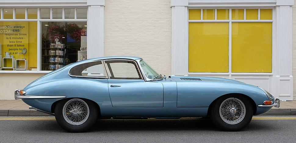 Jaguar E-Type series 1 coupé 1964