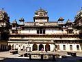 Jahangir Mahal Orchha Fort Orchha India - panoramio (2).jpg