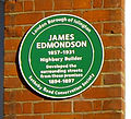 James Edmondson plaque (10854524436).jpg
