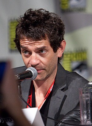 James Frain - Frain at the 2010 San Diego Comic Con