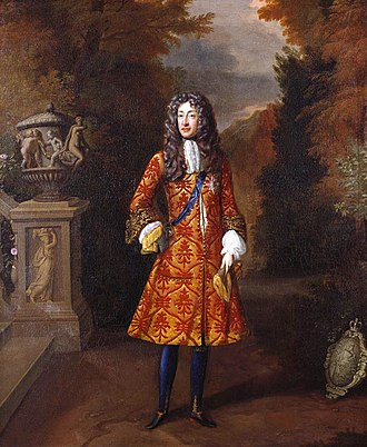 Anne Killigrew - Portrait of James II (1685) - Royal Collection