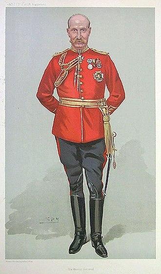 James Wolfe Murray - General Sir James Murray as caricatured by Spy (Leslie Ward) in Vanity Fair, May 1905