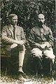 Jan Łucevič (Janka Kupała), Kanstantyn Mickievič (Jakub Kołas). Ян Луцэвіч (Янка Купала), Канстантын Міцкевіч (Якуб Колас) (1920-29) (2).jpg