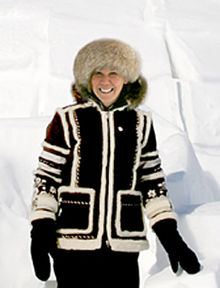 Jan Brett at the Arctic Circle.jpg