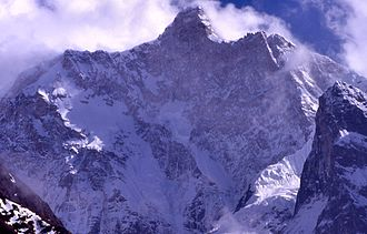 Kumbhakarna Mountain - Image: Jannu North Face