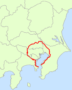 Japan National Route 16 Map.png