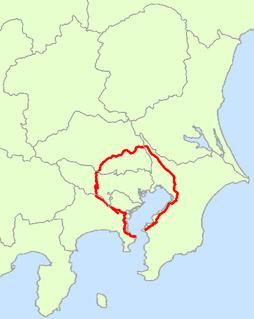 Japan National Route 16 road in Japan