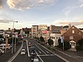 Japan National Route 495 from footbridge of Kasumigaoka 1-Chome.jpg