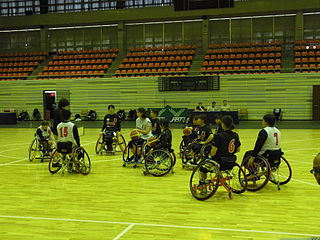 Japan womens national wheelchair basketball team