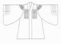 Japanese judicial dress for judge since 1949.PNG