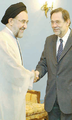 Javier Solana and Mohammad Khatami - Tehran - July 29, 2002.png