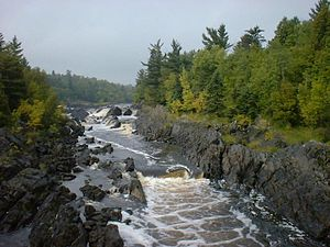 Jay Cooke State Park - The St. Louis River in Jay Cooke State Park