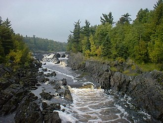 Midcontinent Rift System - Image: Jay Cooke State Park 1