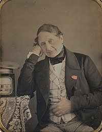 Jean-Gabriel Eynard (Swiss - Self-Portrait with a Daguerreotype of Geneva - Google Art Project.jpg