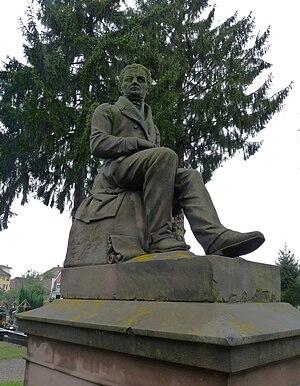 André Friedrich - Memorial to Johann-Georg-Daniel Arnold, Strasbourg