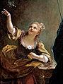 Jean Raoux – Jeune fille qui fait voler un oiseau 1717.jpg